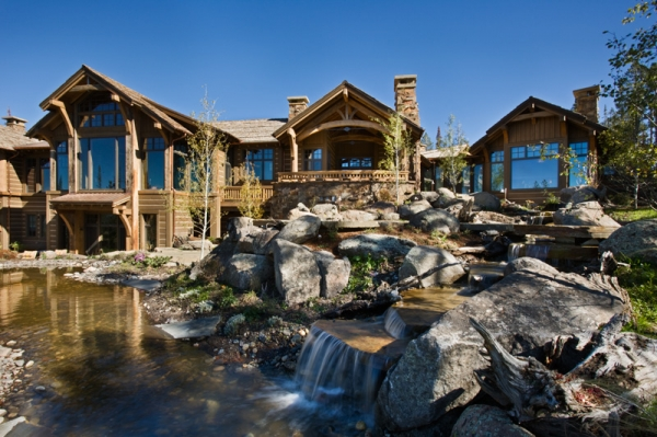 Amazing mountain homes by locati adorable home - Mountain house plans dreamy holiday homes ...