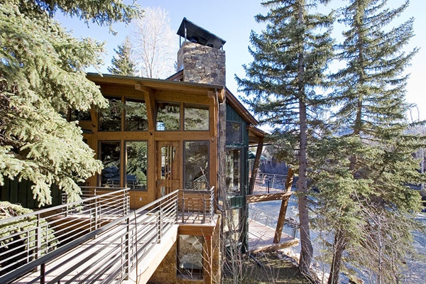 Amazing riverside house Colorado (15)