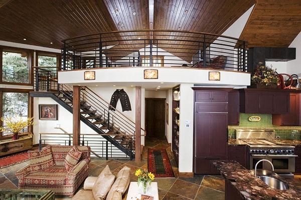 Amazing riverside house Colorado (4)