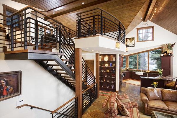 Amazing riverside house Colorado (5)