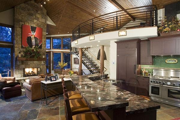 Amazing riverside house Colorado (6)