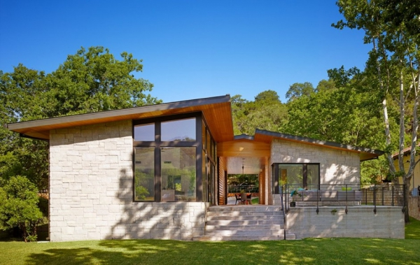 American Modern Lake House Adorable Home