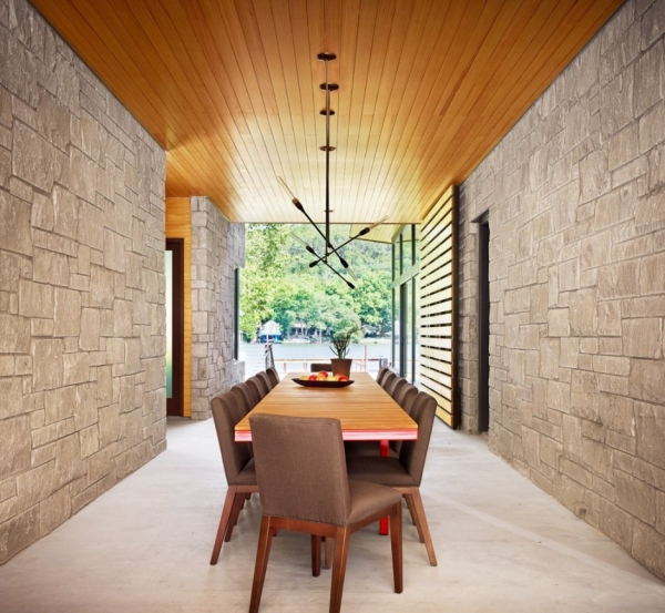 Modern Lake House Architecture: American Modern Lake House