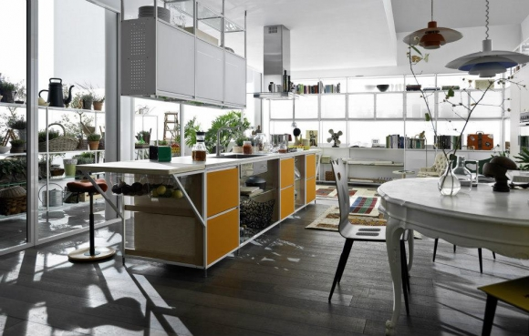 an amazing modern kitchen system  adorable home,Amazing Modern Kitchens,Kitchen cabinets