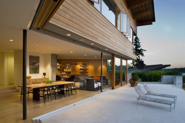 modern two storey house Seattle (4)