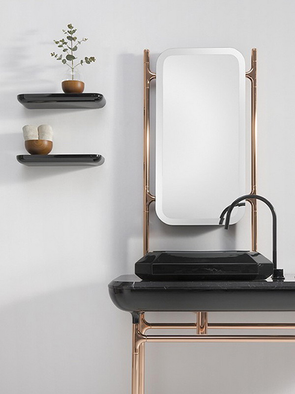 Art deco bathrooms are coming back in style adorable home for Bisazza bathroom ideas