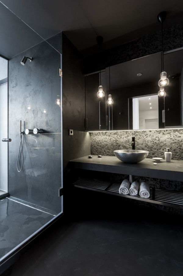 Attic apartment design ideas in Prague (12)