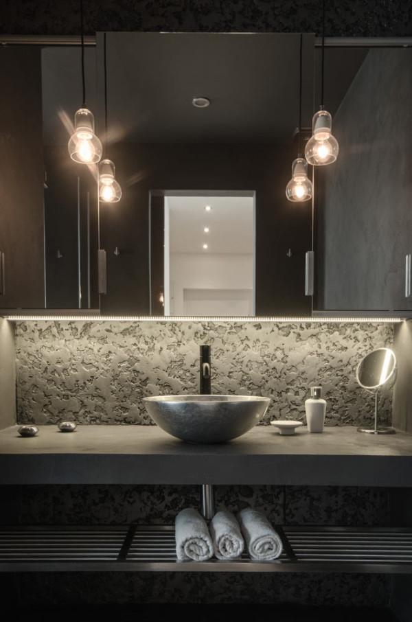 Attic apartment design ideas in Prague (13)