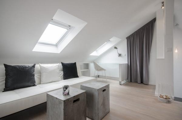 Attic apartment design ideas in Prague (19)
