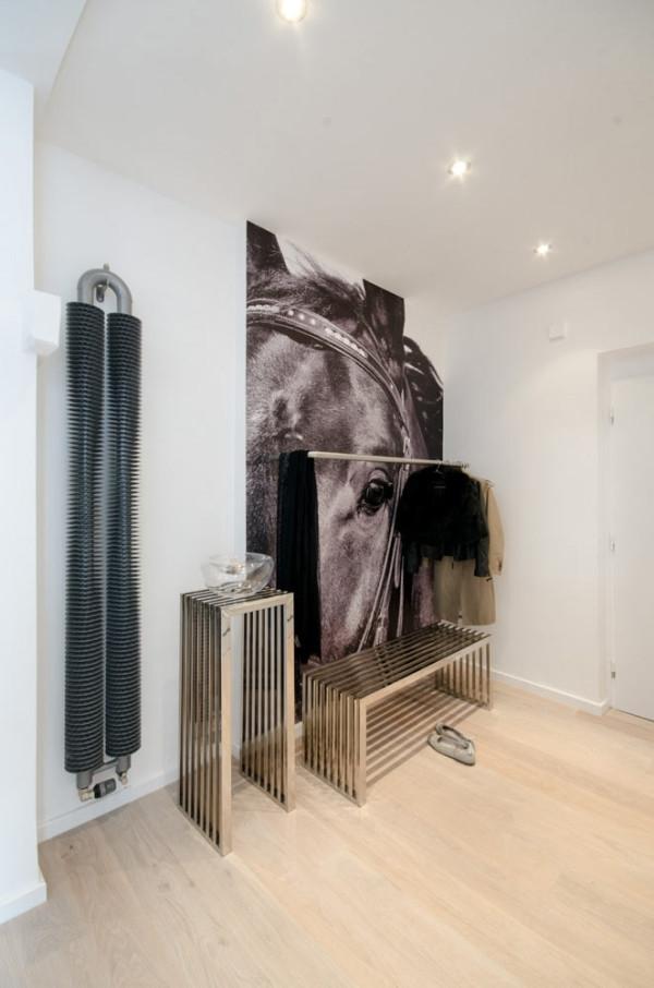 Attic apartment design ideas in Prague (20)