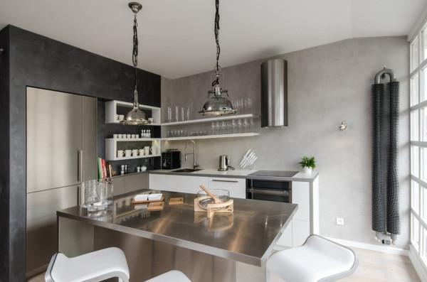 Attic apartment design ideas in Prague (5)