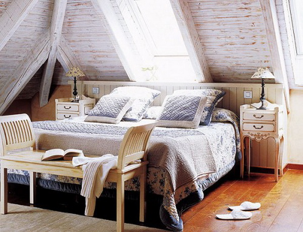 Attic bedroom designs » Adorable Home