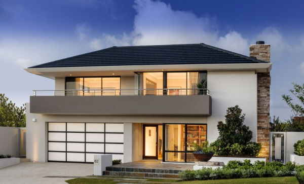 We love this australian contemporary house design for Classic home designs australia