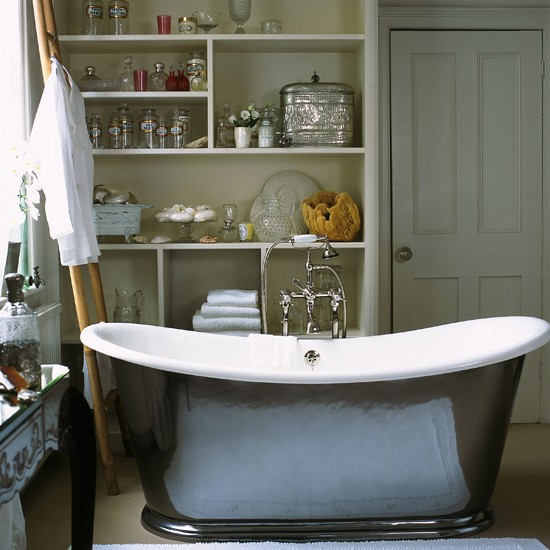 decorating bathroom shelves ideas 2