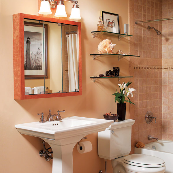 Bathroom Accessories For Small Spaces 6 tips when decorating small spaces. decoration simple small