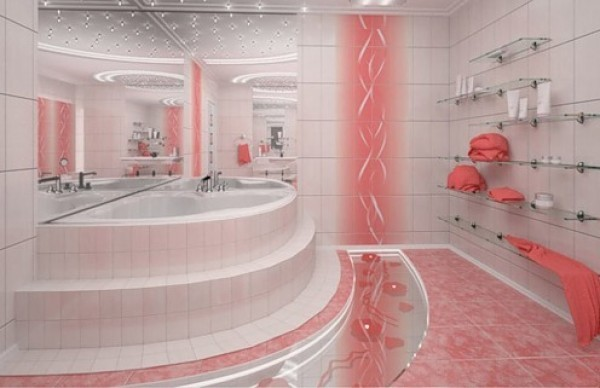 Various bathroom design ideas adorable home for White and pink bathroom ideas