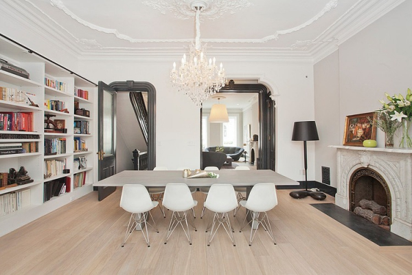Beautiful Baroque Minimalism Adorable Home