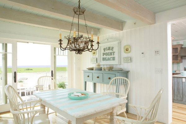 Beautiful Beach House With A Light Color Scheme Adorable Home