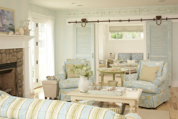 Beach house colors interior