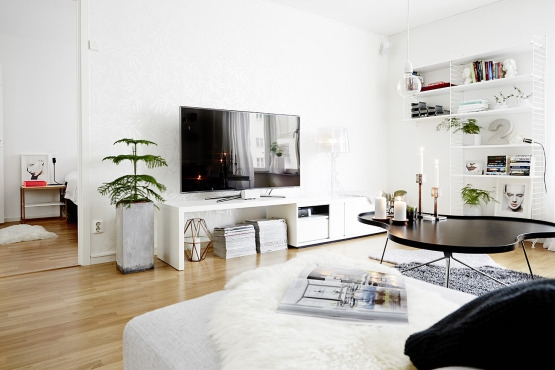 Beautiful bright home exudes minimalism (8)