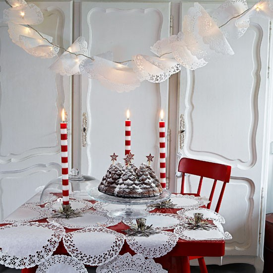Beautiful Table Centerpieces: Beautiful Christmas Table Decorations