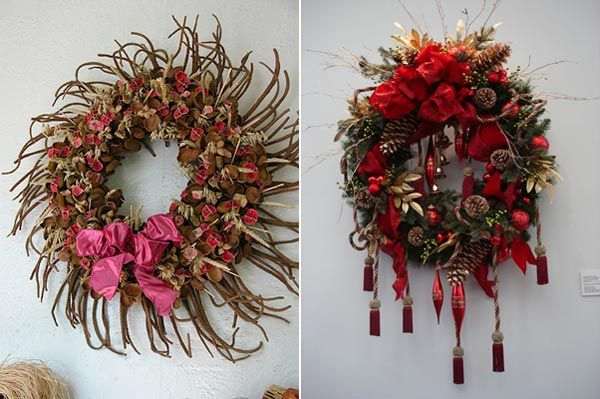 beautiful christmas wreaths for the front door