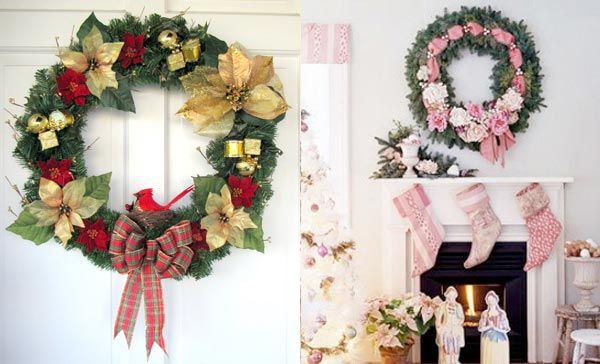 beautiful-christmas-wreaths-for-the-front-door-3