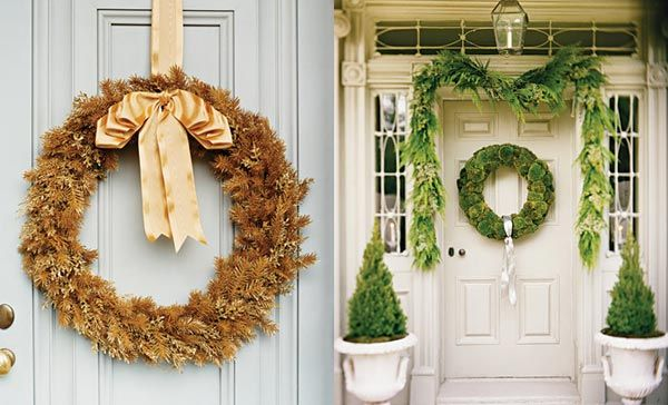 beautiful-christmas-wreaths-for-the-front-door-7