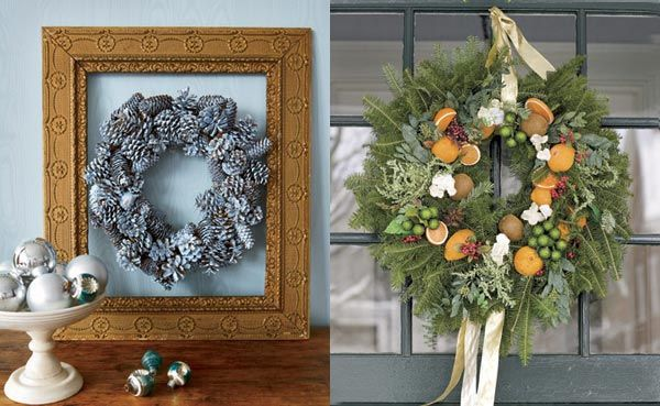 beautiful-christmas-wreaths-for-the-front-door-9
