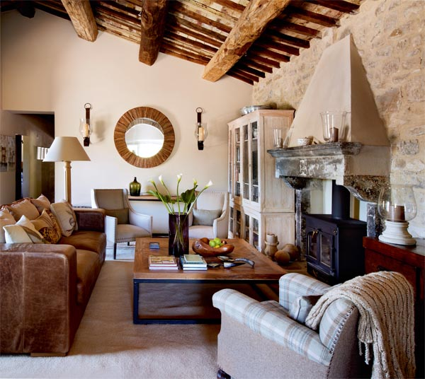 Beautiful house in italy adorable home for Casa di campagna arredamento