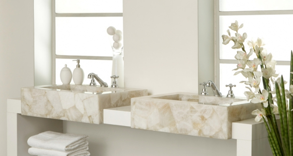 Beautiful quartz bathrooms (8)