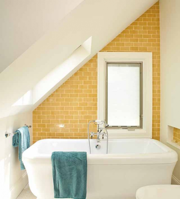 Beautiful yellow bathroom designs (18)