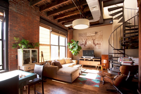 beautifully-designed-industrial-loft-1