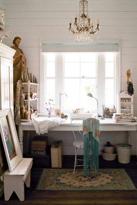 Beautifully Done Vintage Interior Adorable Home