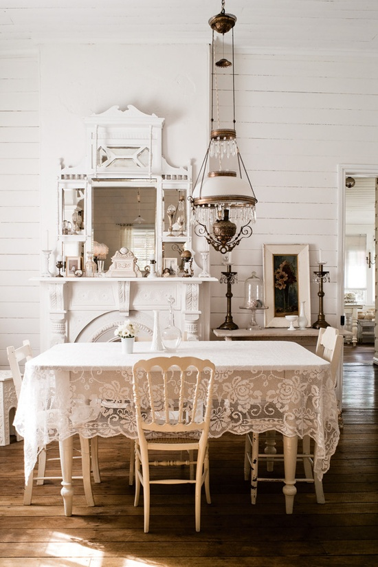 Beautifully Done And Beautifully White A Vintage Interior