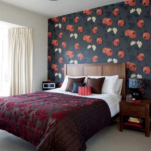 Living Room Wallpaper Houzz