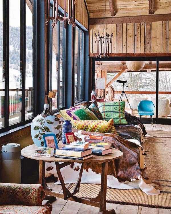 Bohemian chalet a winter fairy tale Adorable Home