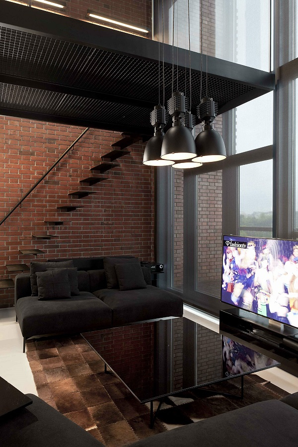 contemporary loft apartment (3)