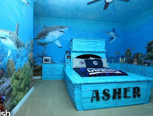 decorate boys rooms