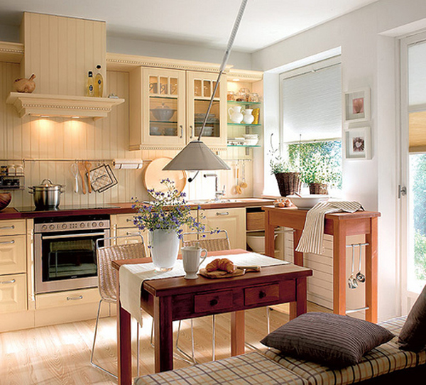 Cozy and bright kitchen designs adorable home for Bright kitchen decorating ideas