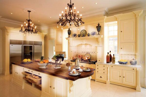 Cozy bright kitchen designs adorable home - Design ideas for above kitchen cabinets ...
