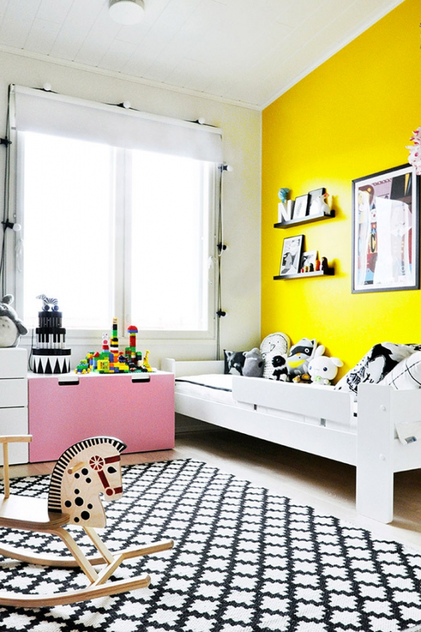 Bright and cute kids room 3