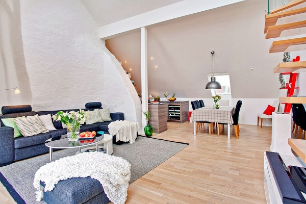 bright-loft-in-sweden-with-beautiful-features-4