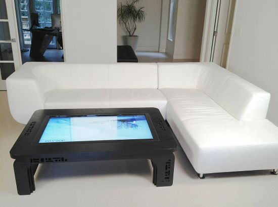 Delicieux Bring A Little Fun Into Your Living Room With This Multi Touch Table