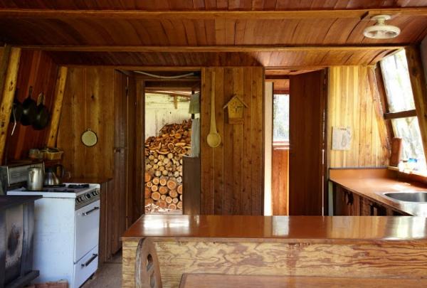 Small Cabin Interior Design Ideas small kitchen Cabin Interior Designs 8