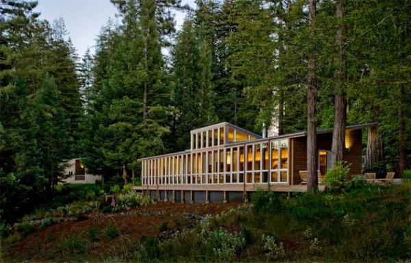 California dream house in the woods  (10)