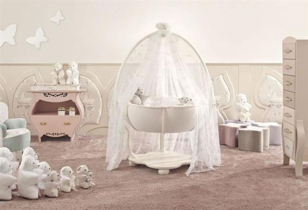 Luxury Nursery Designs From Halley Adorable Home