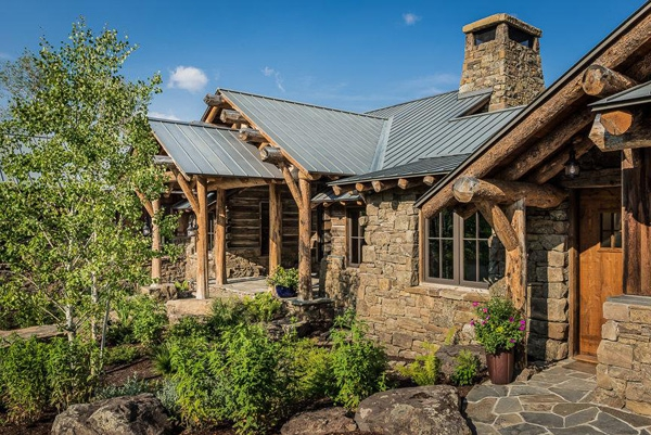 Charming Rustic House Tucked Away In Montana Adorable Home