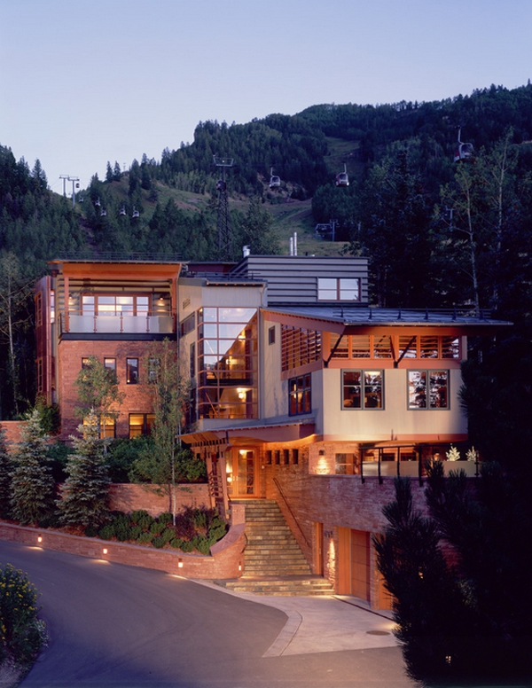 Beautiful And Modern Mountain House In Aspen Adorable Home