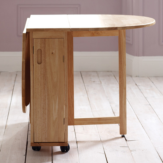 Choose a folding dining table for your small space adorable home - Foldable dining table ...